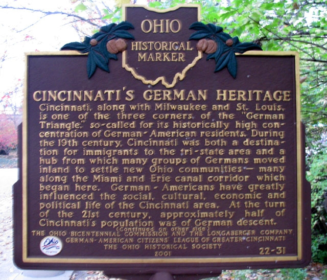 German Heritage Marker